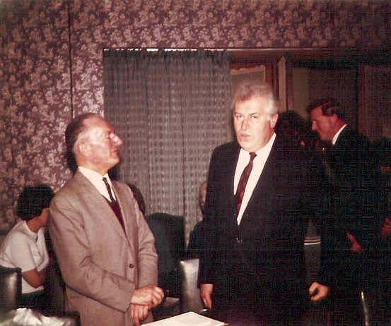 Cyril with Robert Farnon in the 60's (RFS)