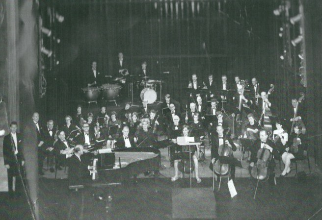 Cyril Conducting Cambridge Light Concert Orchestra